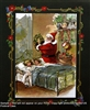 8x10 Inch Santa Claus Fine Art Print Home Decor in Bathroom #x20-810-K