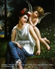 8x10 Inch Venus and Cupid Fine Art Print and Poster in Angels #x23-810-F