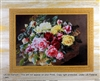 8x10 Inch Roses In A Basket Fine Art Print and Poster in Bouquets #x33-810-u