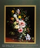 8x10 Inch Honesuckle and Peonies Fine Art Print and Poster in Bouquets #x34-810-D