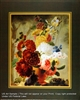 8x10 Inch A Vase of Flower and Fledglings Fine Art Print and Poster in Bouquets #x34-810-E