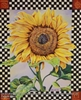 8x10 Inch Checkerboaard Sunflower Fine Art Print and Poster in Bouquets #x37-810-M