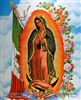8x10 Inch Guadalupe/flag Fine Art Print Faith in Catholic Spanish posters #x4-810-K