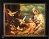 8x10 Inch Mother Mary Fine Art Print Faith in Catholic Spanish posters #x4-810-S