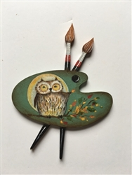 Lynne Andrews Arty the Owl Pattern Packet