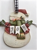 Lynne Andrews Joyful Snowman Pattern Packet