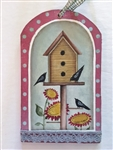 Lynne Andrews treasured tags blackbird pattern packet