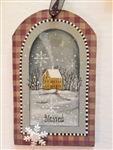 Lynne Andrews treasured tags blessed pattern packet