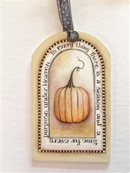 Lynne Andrews treasured tags pumpkin pattern packet