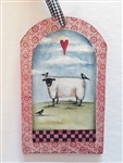 Lynne Andrews treasured tags sheepish pattern packet