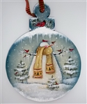 Lynne Andrews Cardinal Caper Ornament  Pattern Packet.
