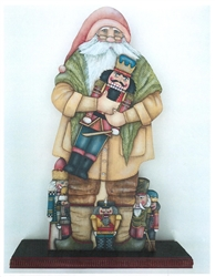Lynne Andrews Nutcracker Father Christmas Pattern