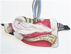 Lynne Andrews Great Joy Flying Santa E-Pattern