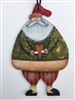 Lynne Andrews Heartfelt Santa Ornament Pattern Packet.