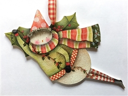 Lynne Andrews happy holly-day snowie Pattern packet