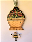 Queen Bee Ornament of the month Non-Club