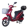 Sunshine with quick release case  500W, 48V (Red) QR