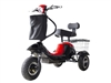 Mini Rickshaw 48V Mobility Scooter - Black
