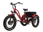 Florence Fat Tire 500W 48V (Red)