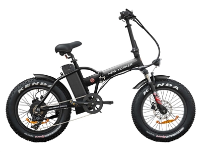 New Yorker Fat Tire 250W, 36V (Black)