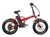 New Yorker Fat Tire 350W, 36V (Red)