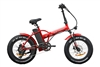 New Yorker Fat Tire 350W, 48V (Red)