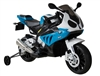 BMW S1000RR Kids Electric Ride On Motorcycle - Blue