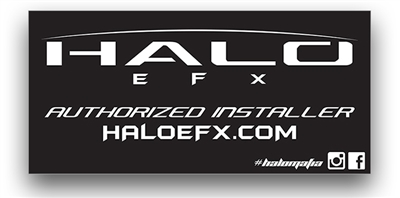 Halo EFX - Shop Banner Black