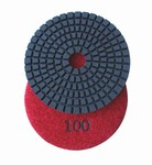 3 inch wet polishing pad, grit 100