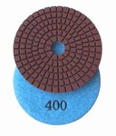 3 inch wet polishing pad, grit 400