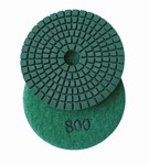 3 inch wet polishing pad, grit 800