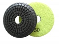 3 inch convex wet polishing pad, 50grit