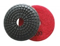 3 inch convex wet polishing pad, 100grit