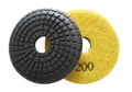 3 inch convex wet polishing pad, 200grit