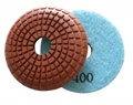 3 inch convex wet polishing pad, 400grit