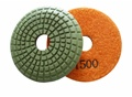 3 inch convex wet polishing pad, 1500grit