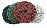 3 inch Wet Polishing Pad Set with White Buff