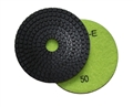 4 inch wet diamond polishing pad,  50 grit