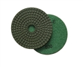 4 inch wet diamond polishing pad,  800 grit