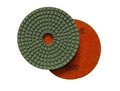 4 inch wet diamond polishing pad,  1500 grit