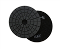 4 inch wet diamond polishing pad,  black buff