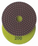 4 inch Premium Wet Polishing Pad, 200 grit