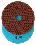 4 inch Premium Wet Polishing Pad, 400 grit