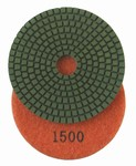 4 inch Premium Wet Polishing Pad, 1500 grit