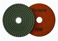 4 inch Supreme Granite Wet Polishing Pad, 1500 grit