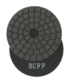 4 inch Premium Wet Polishing Buff Pad, Black