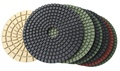 Premium 4 inch wet polishing pad set