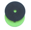 "5"" Wet Diamond Polishing Pad, 50 grit"