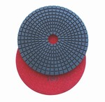 5 inch wet polishing pad, grit 100