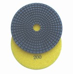 "5"" Wet Diamond Polishing Pad, grit 200"